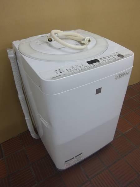 シャープ 洗濯機 ES-G7E3-KW