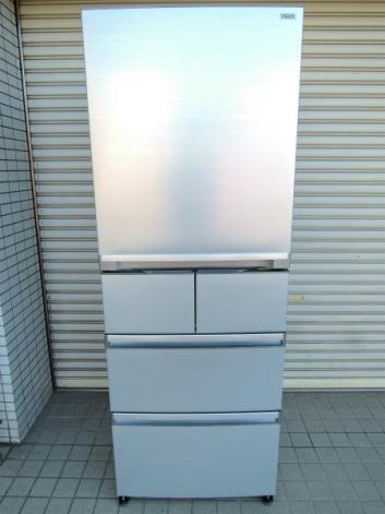 Haier AQUA 5ドア ノンフロン冷凍冷蔵庫 400L AQR-SD40B