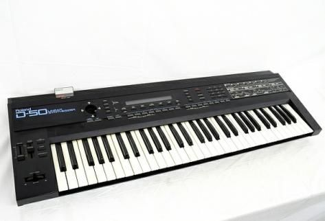 Roland D-50 デジタル シンセサイザー