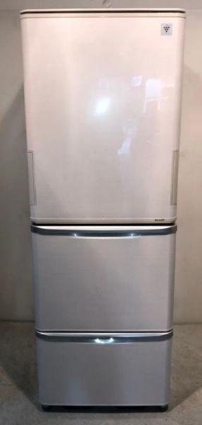 SHARP 3ドア 冷凍冷蔵庫 SJ-PW35A-C