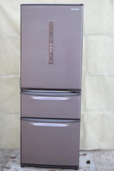 Panasonic 315L 3ドア 冷凍冷蔵庫 NR-C32FM-T