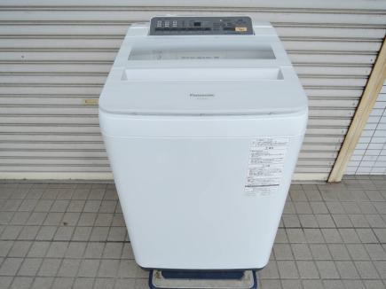 Panasonic 8.0kg 全自動洗濯機 NA-FA80H3