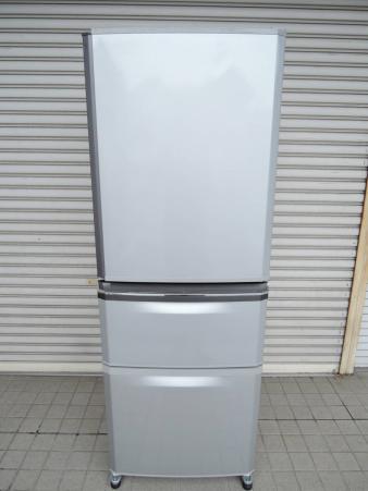 三菱 冷凍冷蔵庫 335L MR-C34EY-AS