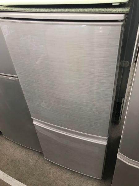 シャープ SHARP 冷凍冷蔵庫 137L SJ-D14C-S