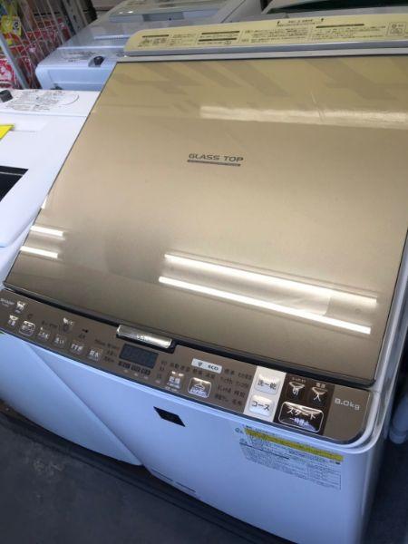 SHARP シャープ ES-GX8A-N 洗濯乾燥機 8.0kg