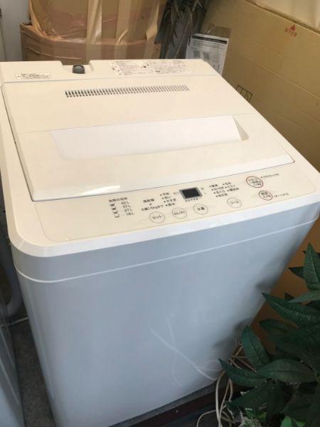 無印良品 全自動電気洗濯機 AQW-MJ45
