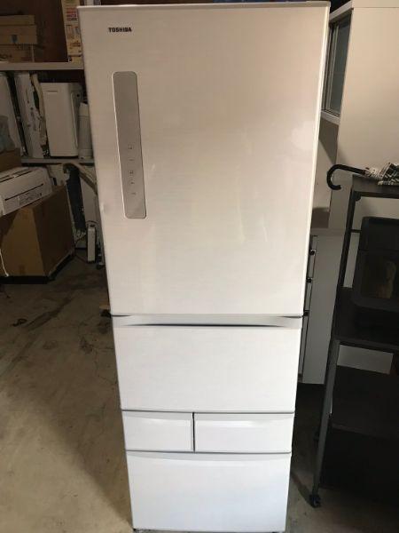 東芝 VEGETA ベジータ 5ドア 冷凍冷蔵庫 自動製氷 426L GR-F43G