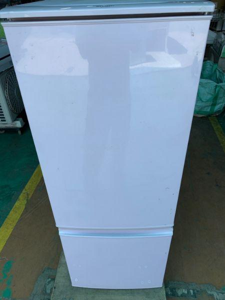 シャープ SHARP 2ドア冷蔵庫 167L SJ-17E2-SP