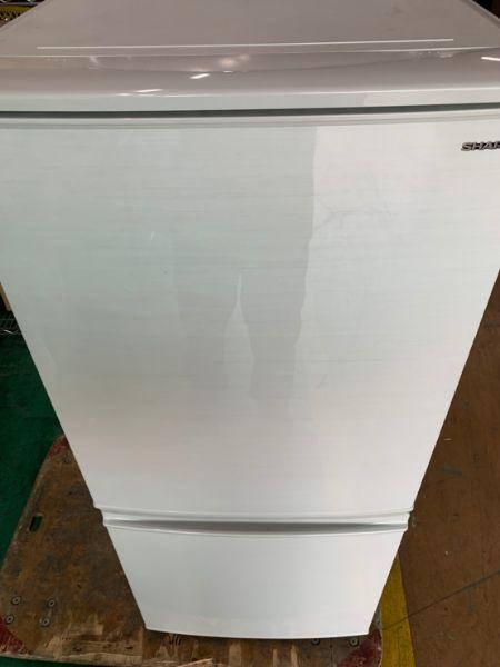 シャープ SHARP ノンフロン冷凍冷蔵庫 2ドア SJ-D14D-W