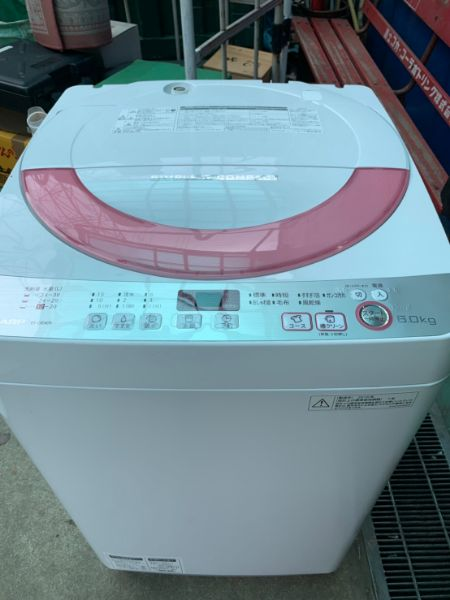 SHARP シャープ 全自動洗濯機 ES-GE60R-P