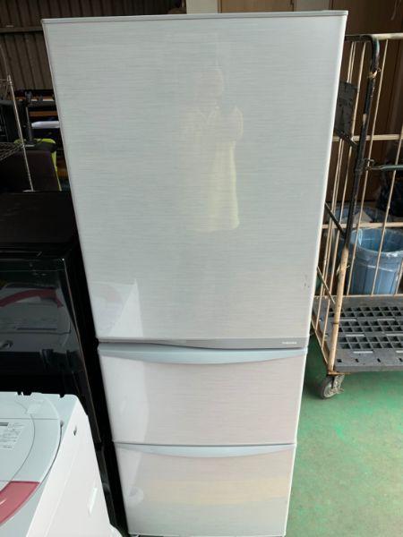 TOSHIBA 東芝 GR-E38N ノンフロン冷凍冷蔵庫