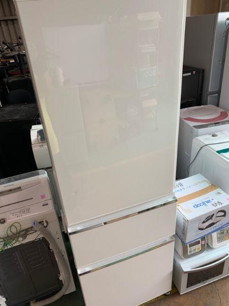 MITSUBISHI 3ドアノンフロン冷蔵庫 MR-CX37CL-W