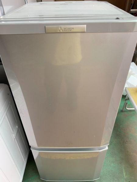 三菱 2ドア 冷凍冷蔵庫 MR-P15Y-S