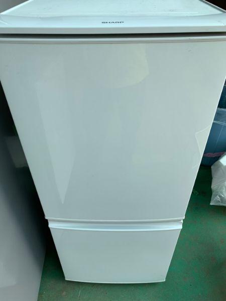 SHARP シャープ 冷凍冷蔵庫 SJ-D14A-W