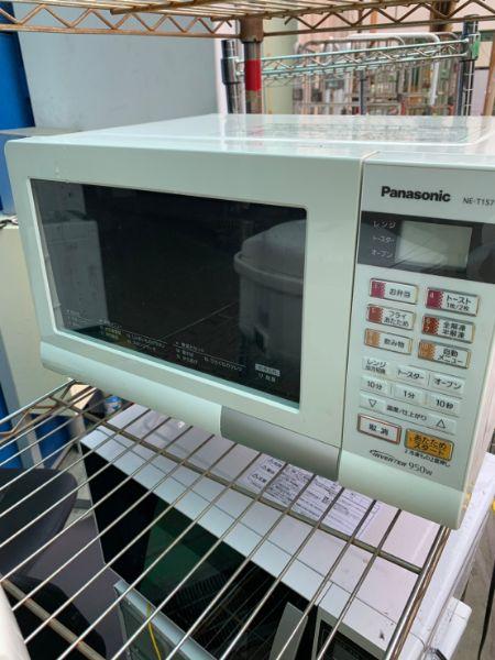 Panasonic パナソニック 電子レンジ オーブンレンジ NE-T157-W