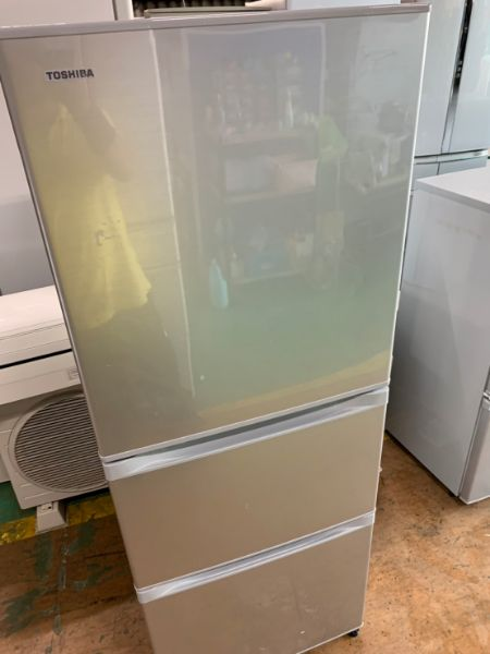 TOSHIBA 東芝  3ドア冷凍冷蔵庫 GR-H34SY