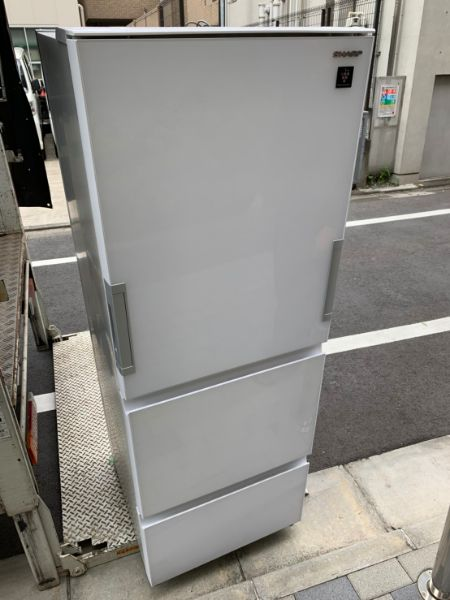 SHARP シャープ 冷凍冷蔵庫 356L SJ-GW36D-W