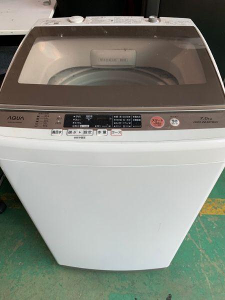 AQUA 7.0kg 全自動洗濯機 AQW-GV700E