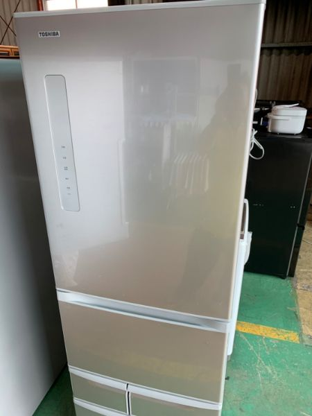 TOSHIBA 東芝 ノンフロン冷凍冷蔵庫 GR-K41G内容量410L