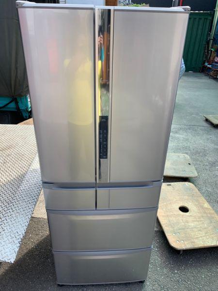 日立 冷凍冷蔵庫 517L 6ドア R-SF520CM