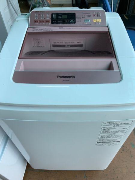 Panasonic 8.0kg 全自動洗濯機 NA-FA80H1