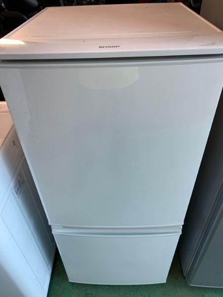 SHARP シャープ ノンフロン冷凍冷蔵庫 SJ-D14B-W