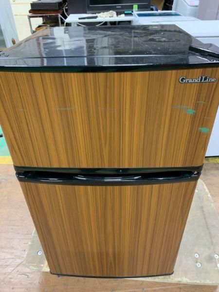 エスキュービズム 2ドア冷蔵庫 AR-90L02DB