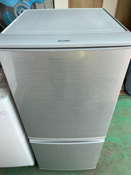 SHARP シャープ 冷凍冷蔵庫 SJ-D14C-S