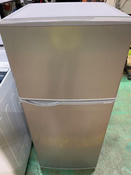 SHARP シャープ 冷凍冷蔵庫 118L SJ-H12D-S