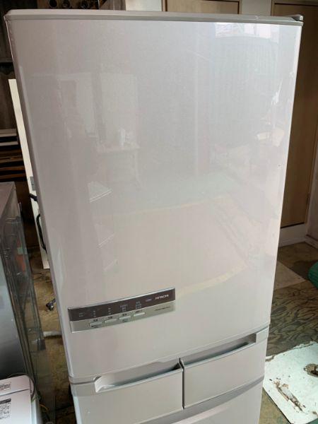 日立 HITACHI ノンフロン 冷凍冷蔵庫 R-S42CM