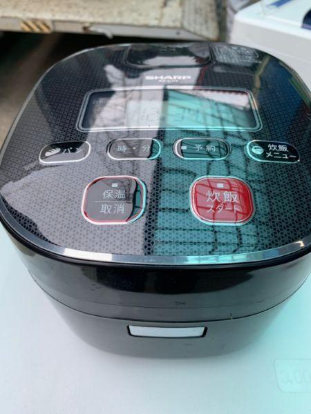 SHARP シャープ ジャー炊飯器 KS-C5H-B