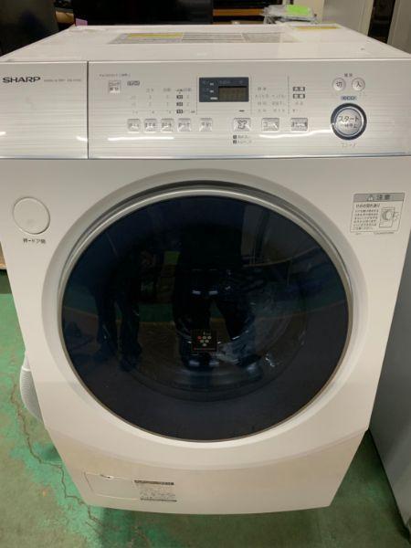SHARP シャープ ドラム式 洗濯乾燥機 ES-H10C-WR