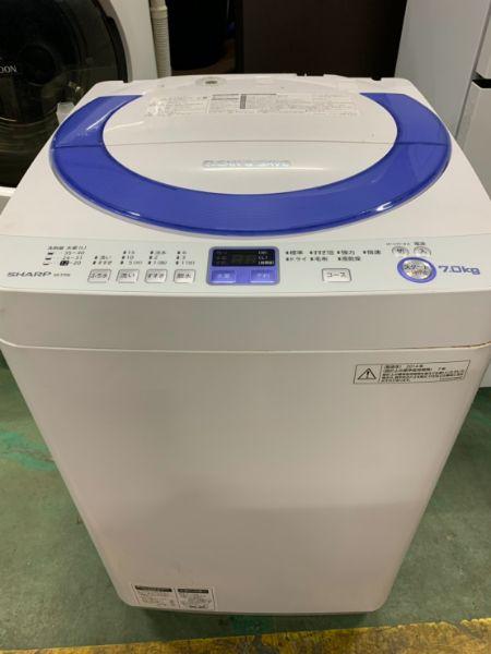 SHARP シャープ 全自動洗濯機 ES-T76-A