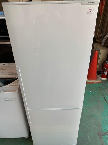 シャープ SHARP 271L 冷凍冷蔵庫 SJ-PD27B-W