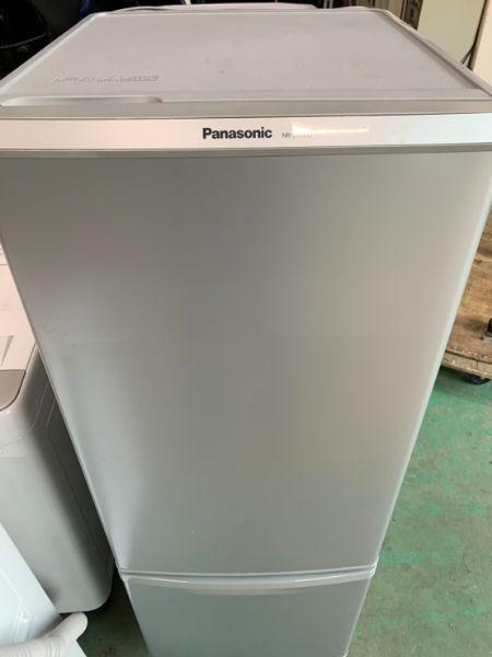 パナソニック 168L 2ドア冷凍冷蔵庫 NR-B179W
