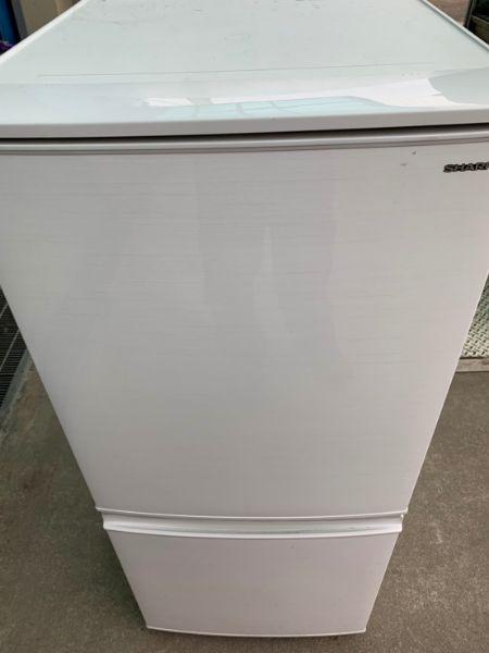 SHARP シャープ 冷凍冷蔵庫 SJ-D14D-S 137L