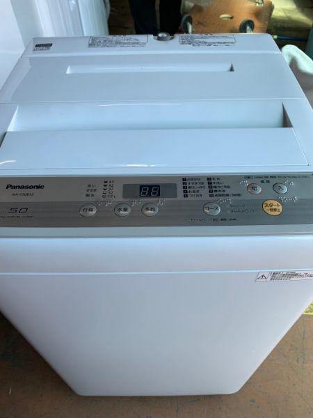 Panasonic NA-F50B12 全自動洗濯機 5kg