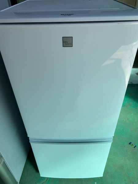 SHARP 2ドアノンフロン冷蔵庫 137L SJ14E5-KW