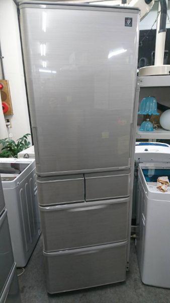 シャープ 冷蔵庫 SJ-W412D-S 412L