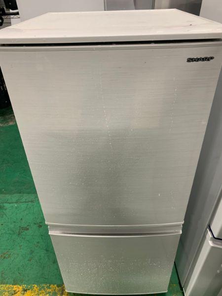 SHARP シャープ 冷凍冷蔵庫 SJ-D14E-W 137L