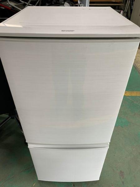 SHARP シャープ SJ-D14C-S 冷凍 冷蔵庫
