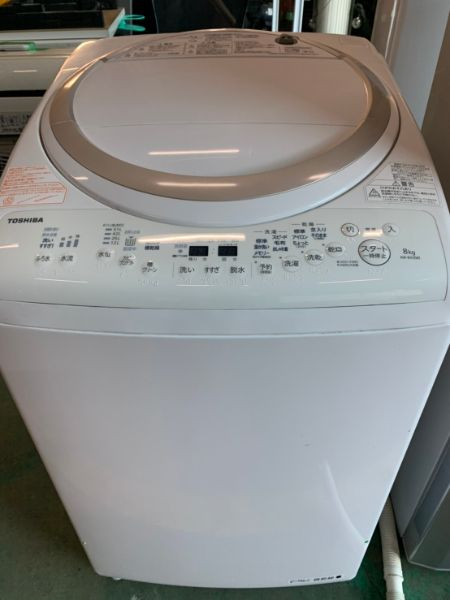 TOSHIBA AW-8V5 全自動 洗濯機 8.0kg