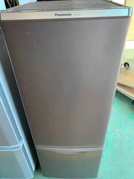 パナソニック 168L 2ドア冷凍冷蔵庫 NR-B179W-T