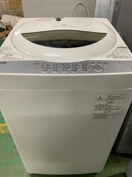 TOSHIBA 東芝 全自動洗濯機 5kg AW-5G6