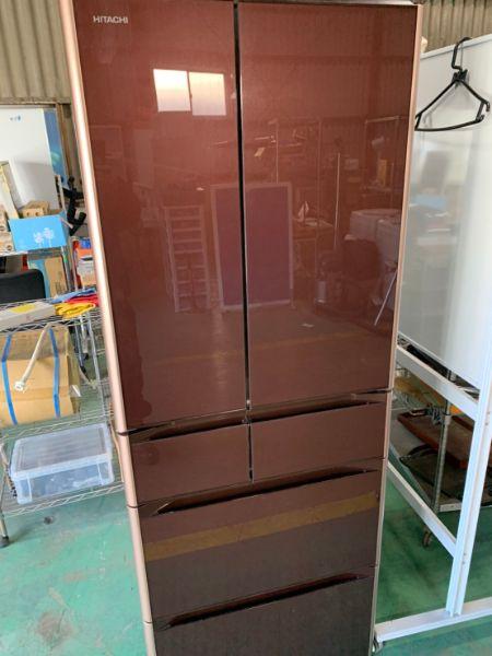 日立 冷蔵庫 475L 6ドア R-XG4800H