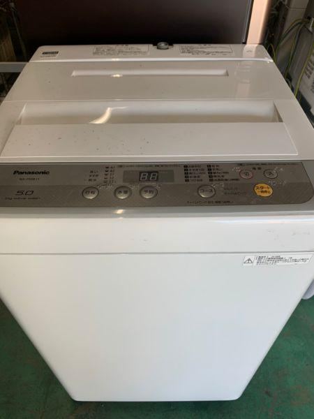 Panasonic NA-F50B11 全自動 洗濯機