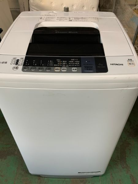 日立 全自動洗濯機 6kg NW-6WY