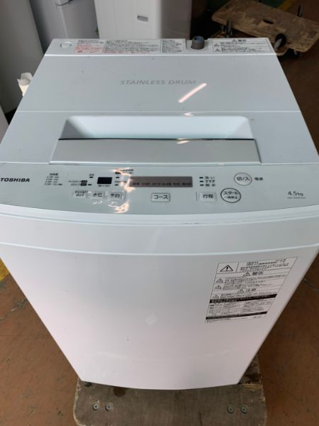 TOSHIBA 東芝 全自動洗濯機 AW-45M5