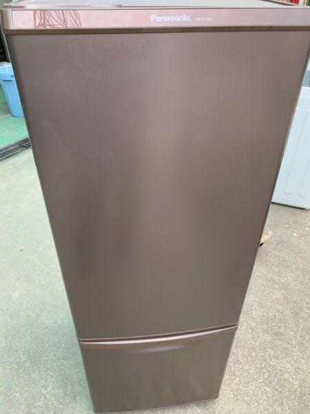 Panasonic 2ドア 冷凍冷蔵庫 168L NR-B17AW-T