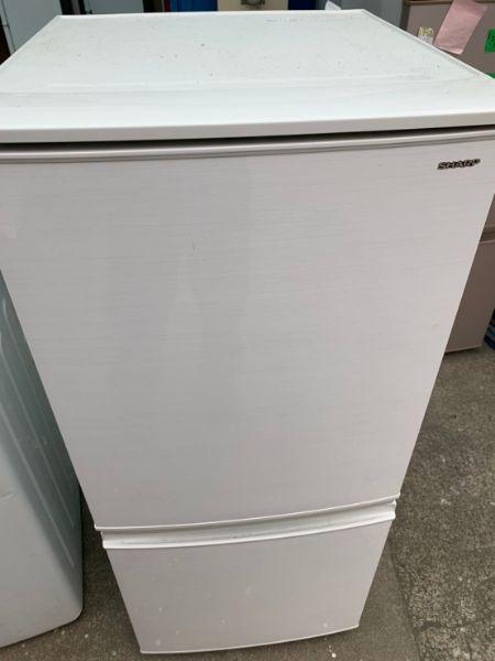 SHARP ノンフロン冷凍冷蔵庫 137L SJ-D14D-W